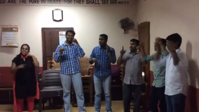 Action Song by Church Youths – Telephone Khuda ka Telephone